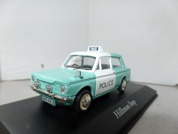 Atlas JA05 1/43 O Scale British Police Hillman Imp Kent  Force